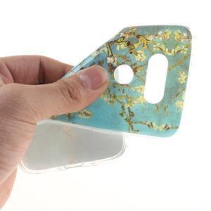 Softy gelový obal na mobil LG G5 - kvetoucí strom - 5