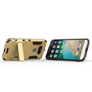 Odolný kryt na mobil LG G5 - zlatý - 5