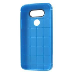 Rubby gelový kryt na LG G5 - modrý - 5
