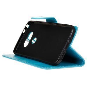 Lees peněženkové pouzdro na LG G5 - modré - 5