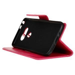 Lees peněženkové pouzdro na LG G5 - rose - 5