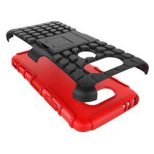 Outdoor odolný obal na mobil LG G5 - červený - 5