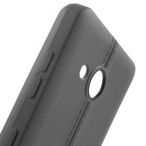 Lines gelový kryt se švy na Microsoft Lumia 550 - šedý - 5