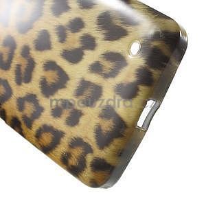 Gelový obal na Microsoft Lumia 640 - leopard - 5