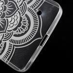 Transparentní gelový obal na Microsoft Lumia 640 - květina - 5/5