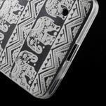 Transparentní gelový obal na Microsoft Lumia 640 - kouzelní sloni - 5/5