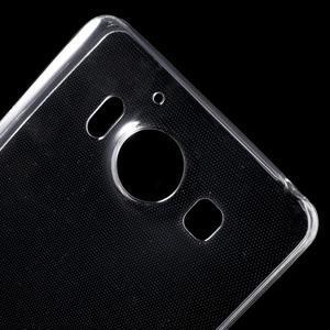 Ultratenký gelový obal na Microsoft Lumia 950 - transparentní - 5
