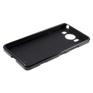 Jelly gelový obal na Microsoft Lumia 950 - černý - 5