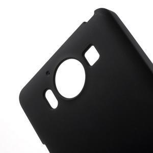 Matný gelový obal na Microsoft Lumia 950 - černý - 5