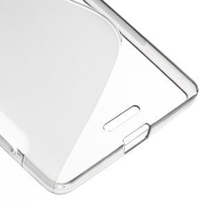 S-line gelový obal na mobil Microsoft Lumia 950 XL - šedý - 5