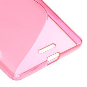 S-line gelový obal na mobil Microsoft Lumia 950 XL -rose - 5
