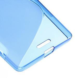 S-line gelový obal na mobil Microsoft Lumia 950 XL - modrý - 5