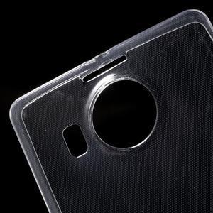 Ultratenký gelový obal na Microsoft Lumia 950 XL - transparentní - 5