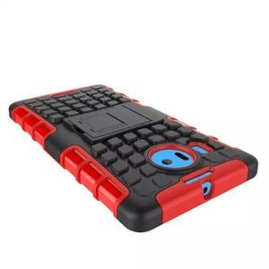 Odolný outdoor obal na mobil Microsoft Lumia 950 XL - červený - 5