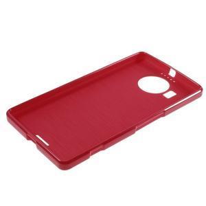 Jelly lesklý gelový obal na mobil Microsoft Lumia 950 XL - červený - 5