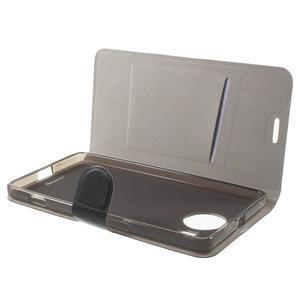 Horse peněženkové pouzdro na Microsoft Lumia 950 XL - černé - 5