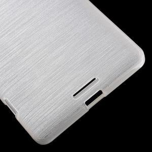 Brushed gelový obal na mobil Microsoft Lumia 950 XL - bílý - 5