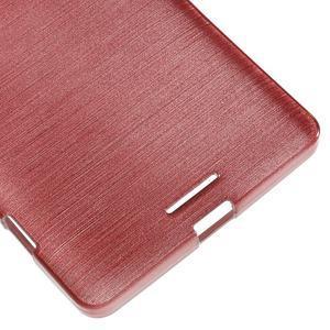 Brushed gelový obal na mobil Microsoft Lumia 950 XL - růžový - 5