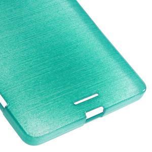 Brushed gelový obal na mobil Microsoft Lumia 950 XL - modrý - 5