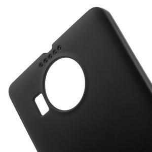 Matný gelový obal na mobil Microsoft Lumia 950 XL - černý - 5