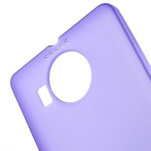 Matný gelový obal na mobil Microsoft Lumia 950 XL - fialový - 5
