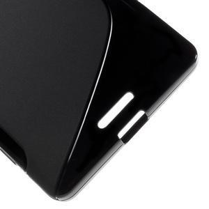 S-line gelový obal na mobil Microsoft Lumia 950 XL - černý - 5