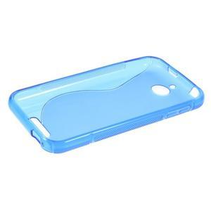 S-line gelový obal na mobil HTC Desire 510 - modrý - 5