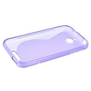 S-line gelový obal na mobil HTC Desire 510 - fialový - 5
