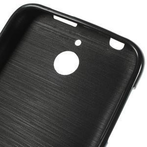 Jelly lesklý gelový obal na HTC Desire 510 - černý - 5