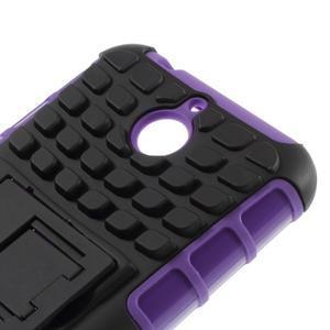 Outdoor odolný kryt na mobil HTC Desire 510 - fialový - 5