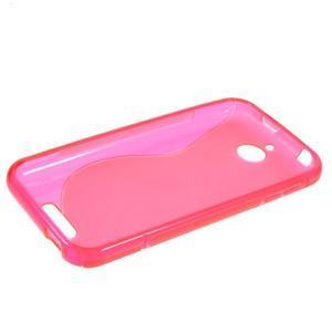 S-line gelový obal na mobil HTC Desire 510 - rose - 5