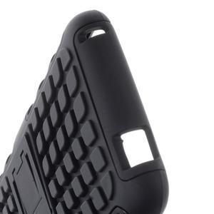Outdoor odolný obal na mobil HTC Desire 620 - černý - 5