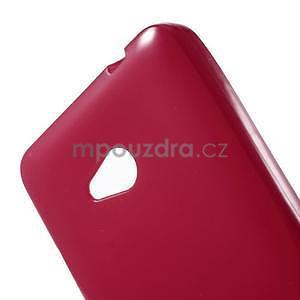 Gelový obal Microsoft Lumia 640 - červený - 5