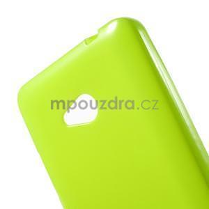 Gelový obal Microsoft Lumia 640 - zelený - 5
