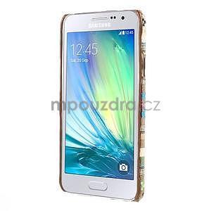 Obal potažený látkou na Samsung Galaxy A3 - 5