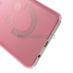 Plastový obal na Samsung Galaxy A3 - růžový - 5