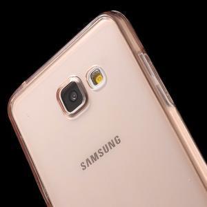 Gelový obal 2v1 pro zadní kryt a displej na Samsung Galaxy A5 (2016) - rose gold - 5