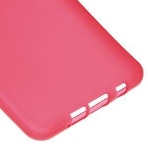 Matný gelový kryt na mobil Samsung Galaxy A5 (2016) - červený - 5