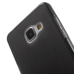 Matný gelový kryt pro Samsung Galaxy A5 (2016) - černý - 5