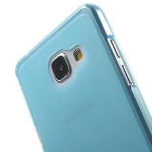 Matný gelový kryt pro Samsung Galaxy A5 (2016) - modrý - 5