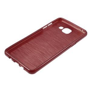 Brush gelový obal na Samsung Galaxy A5 (2016) - červený - 5