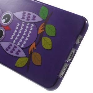 Obal s motivem na mobil Samsung Galaxy A5 (2016) - fialová sovička - 5
