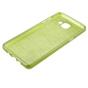 Brush gelový obal na Samsung Galaxy A5 (2016) - zelený - 5