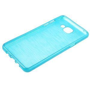Brush gelový obal na Samsung Galaxy A5 (2016) - modrý - 5