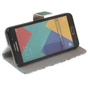 Wall peněženkové pouzdro na Samsung Galaxy A5 (2016) - geo tvary - 5