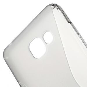 S-line gelový obal na mobil Samsung Galaxy A5 (2016) - šedý - 5