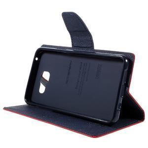 Fancy pouzdro na mobil Samsung Galaxy A5 (2016) - červené - 5