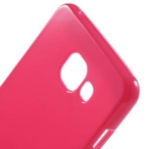 Jelly lesklý pružný obal na Samsung Galaxy A5 (2016) - rose - 5