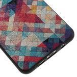 Gelový obal s koženkovým vzorem na Samsung Galaxy A5 (2016) - hexagon - 5/6