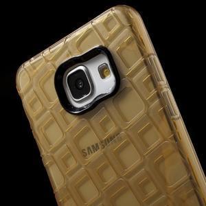 Square gelový obal na mobil Samsung Galaxy A5 (2016) - zlatý - 5